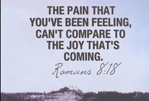 Bible verses / A collection of encouraging scripture verses.