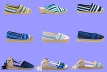 ESPADRILLES / Espadrilles made in Spain and all available at www.espadrillesetc.com.  Flat espadrilles, wedge espadrilles, sandal espadrilles, striped espadrilles - all the espadrilles you can imagen!