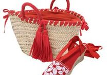 SUMMER BASKETS / Baskets for the beach, spring and summer.