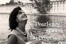 Pearls are ALWAYS appropriate ....