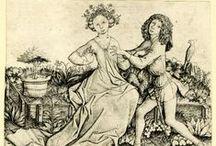 Minne, amour courtois, jardins d'amour