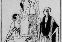Early Washington Fashions / Public Domain popular pre-1923 fashions from the Washington Digital Newspaper Collection. http://chroniclingamerica.loc.gov/
