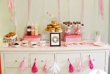 Midnight Snack / Party inspiration for a doughnut and diner themed party
