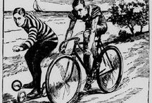Washington a-Wheel / Public Domain illustrations and articles documenting early Washingtonians' love of the bicycle taken from the Washington Digital Newspaper Program. http://chroniclingamerica.loc.gov/