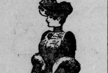 High Fashion at Statehood / A collection of fashionable images from Washington Newspapers at the time of Statehood