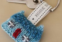 Wee Croft House Brooches & Key Rings