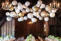 ~Gold Party Decorations / Pretty Gold Wedding Ideas, Gold Party Details and Show-stopping Gold Decorations!