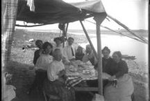 Al Fresco Dining / Pictures of Washingtonians enjoying a meal in the great outdoors. Images from the Washington Rural Heritage Collection