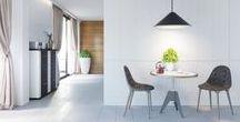 Modern interiors / Modern minimalist interiors, architectural interior design