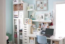 my imaginary craft room / by Haley Shivers