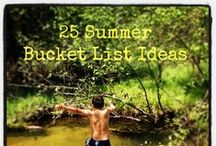 Summer Ideas / Fun activities and adventures for Summer
