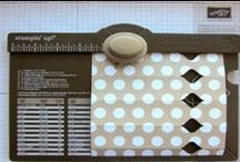 Envelope Punch Board / Unique paper arts created with the Envelope Punch Board...