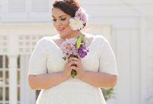 Plus Size Wedding Dresses / #plussizeweddingdresses #plussizebridal / by Killer Kurves
