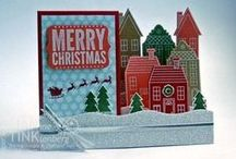 "Holiday Home / Home Sweet Home for ideas using the ""Holiday Home"" Stampin' Up! stamp set..."
