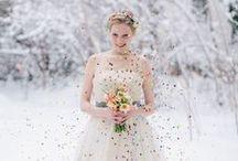 elfenkleid * WINTER WEDDING