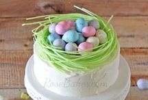Easter & Spring / Spring and Easter cakes, cupcakes, cookies, desserts and treats.  / by RoseBakes.com