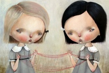 Art - Whimsy #1 / Pop Surrealism * Illustrations * Alternative Art  ★ See More at Art - Whimsy #2 ★ / by Lisa ★ Berry