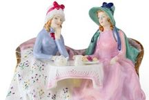 ROYAL DALTON FIGURINES / Gorgeous Figurines a collectors dream<3 / by Janice Notman