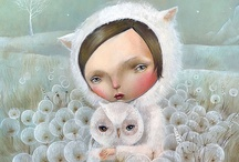 Art - Whimsy #2 / Pop Surrealism * Illustrations * Alternative Art  ★ See More at Art - Whimsy #1 ★ / by Lisa ★ Berry