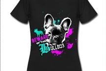 """Camisetas """"Love Dogs"""" para mujer"""