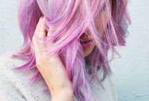 Beauty: Haare / Ideen für Frisuren und Haarfarben. //   Bunt   Haare   Buns   Flechten   Flechtfrisuren   Zöpfe   Ombre   Farben