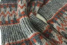 Knitted Shawls, sharfs, cowls, poncho