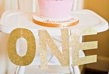 Celebrate Baby! / Birthday party inspiration  / by Lauren Clifford Knudsen