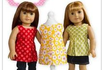"""Dolls and their play stuff / American doll and other 18"""" dolls and their accesories and ideas of use. / by Saskya"""