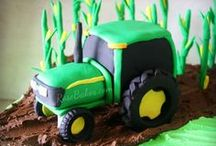 Farm & Tractor Cakes / by RoseBakes.com