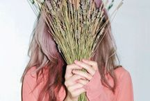 People Hiding Behind Plants / Are they ashamed? Are they scared? Are they ugly? / by Liana Kong