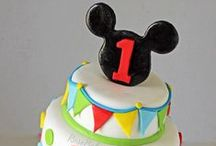 Mickey / Minnie Party / From classic to current, Mickey and Minnie Mouse are always a favorite theme for birthday parties and baby showers.  Find ideas for cakes, cupcakes, cake pops, cookies, and decorations! / by RoseBakes.com
