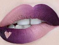 Beauty: Lippen / Wunderschöne und kreative Lip Arts. //   Lippenstift   Lipgloss   Lipstick   Glitter   Glitzer   Ombre   Verlauf