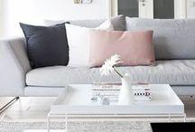 Home: Wohnzimmer / Ideen für ein gemütliches, schönes Wohnzimmer. //   Couch   Sofa   Fernseher   Dekoration   Gemütlichkeit   Einrichtung   Wohnen