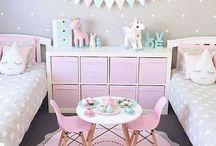 Home: Kinderzimmer / Ideen für niedliche, aufgeräumte Kinder- oder Babyzimmer. //   Baby   Kids   Pastell   Bunt   Clean   Süß   Hell   Betten   Dekoration   Einrichtung   Wohnen   Wohnung