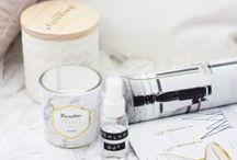 Beauty: DIY / Kosmetik zum Selbermachen. //  DIY   Beauty   Make-Up   Pflege   Lippenbalsam   Duschgel   Jellies   Badebomben   Gesichtsmasken   Gesichtswasser   Sleep Spray   Raumspray