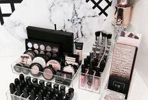 Beauty: Aufbewahrung / Tipps zur Aufbewahrung von Beautyprodukten. //   Make-Up   Pflege   Beauty   Storage   Vanity   Boxen   Schubladen   Acryl   Regale