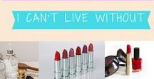 Gigi Stewart Products I Can't Live Without / Brands, products & services I love - and think you might, too!