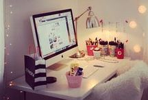 Sitio de trabajo / Work Space / by Almudena M.A.
