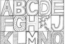 Ways to make words & letters look pretty! / by Katy Lighten