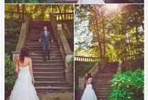 """Wedding - First Look (Bride & Groom) / The first time the groom sees his bride, doesn't have to be at the altar. Here are some romantic, moving photos of some """"first look"""" moments between soon to be married's."""