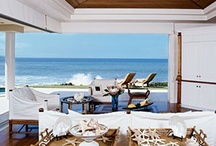 Beach Home / Waking up to the sound of the waves and the view of the beach and ocean on a sunny day is  . . . inspiring. / by Jacquie Lindsay