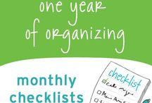 Organizing / by Jenny
