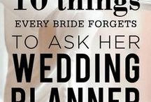 Tips for your Wedding