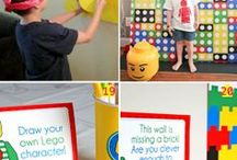 Birthday Party Ideas / It's time for a Lego-themed 11th Birthday party.