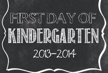 Kindergarten / by Kendyl Snyder