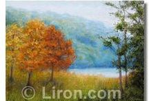 Therapeutic Landscapes / Art by Liron Sissman is known to put patients at ease, reduce stress, enhance well being, improve outcomes, and promote health. www.Liron.com