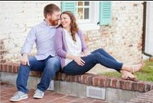 Engagement Photography Outfit Inspiration | AMP / Outfit inspiration for your engagement photos. All photos taken by Angie McPherson Photography | www.McPhersonPhotos.com