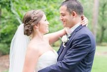 Bride & Groom Portraits | AMP / Wedding day bride & groom posing inspiration