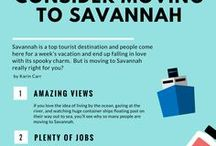 Living in Savannah / All about the amazing town that is Savannah, Georgia