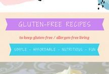 Gigi Stewart Gluten-Free Recipes / These are the recipes I make for my family - all gluten-free, soy-free, nut-free & dairy-free! It's all about keeping meals simple, affordable, nutritious and fun!